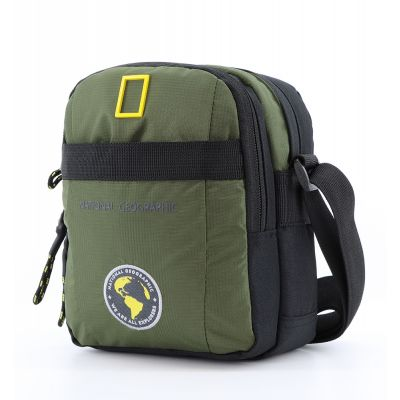 Torba na ramię średnia NATIONAL GEOGRAPHIC NEW EXPLORER Khaki