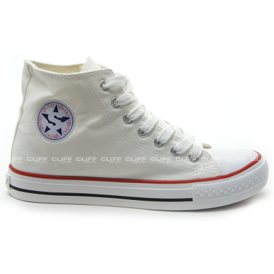 BUTY SMITHS TRAMPKI FULL WHITE HIGH