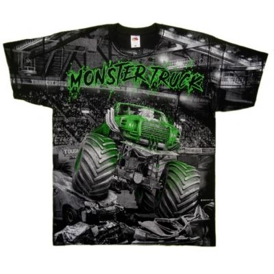 Koszulka Superior Print Monster Truck