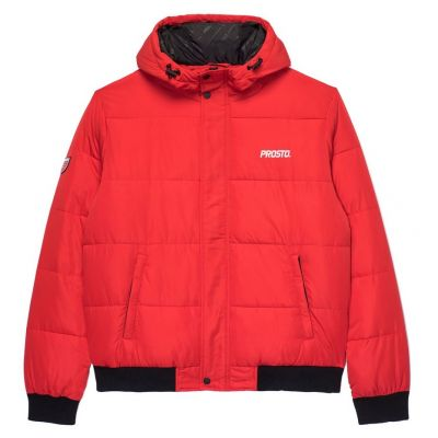 Kurtka puff bomber red