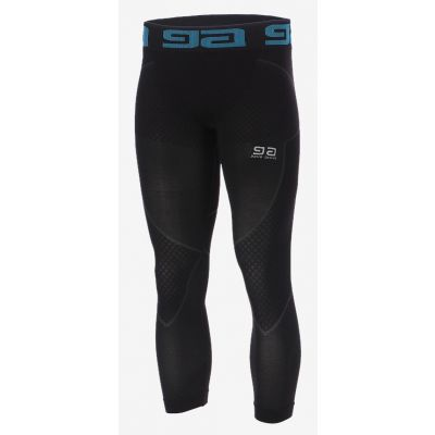 Legginsy run dono 3/4 men Gatta black