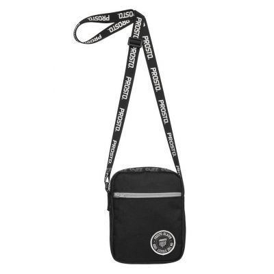 Listonoszka neck bag mercurial black