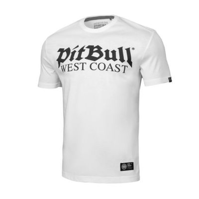T-Shirt Bit Bull Old logo White