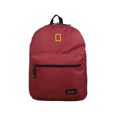 National Geografic Globe Trotter plecak Red