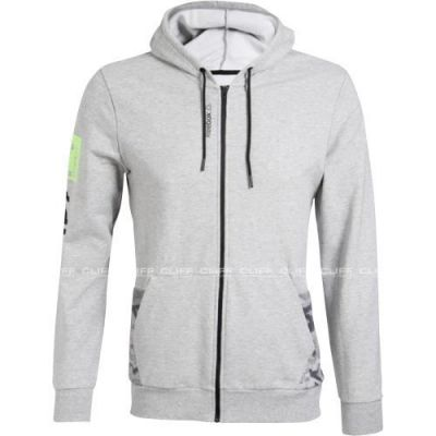 BLUZA REEBOK WORKOUT READY FULL ZIP HOODIE
