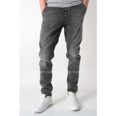 SPODNIE SSG STRETCH-STRAIGHT FIT SZARY JEANS