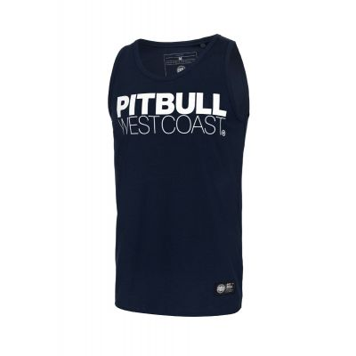 Tank Top PIT BULL Slim Fit Spandex 190 Dark Navy