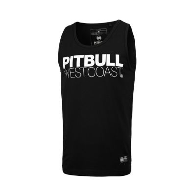 Tank Top PIT BULL Slim Fit Spandex 190 Black