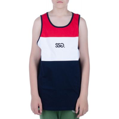 Tank Top colors small granat cerwony