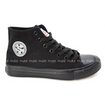 BUTY SMITHS TRAMPKI FULL BLACK HIGH