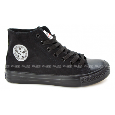 BUTY SMITHS TRAMPKI FULL BLACK M HIGH