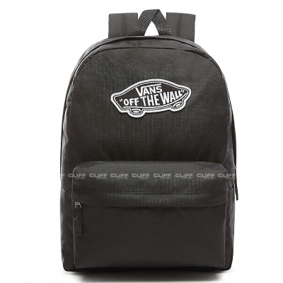 PLECAK VANS WM REALM BACKPACK BLACK