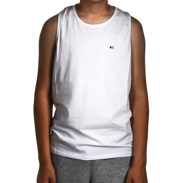 Tank Top Club Ju Znaczek White