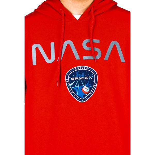 Bluza Kangurka NASA Club Ju Red