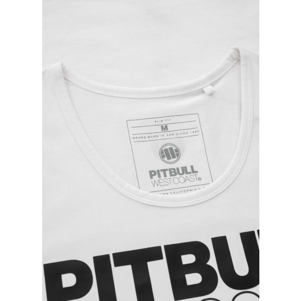 Tank Top PIT BULL Slim Fit Spandex 190 White